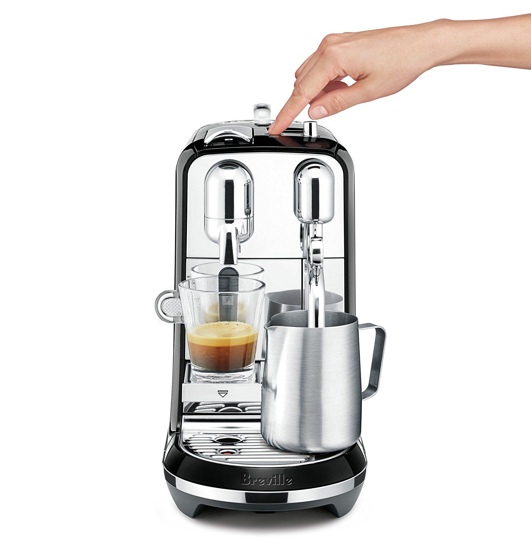 Breville BNE600SLQ Nespresso Creatista Espresso & Coffee Maker, Black USD 299.95 - Page 3 ...