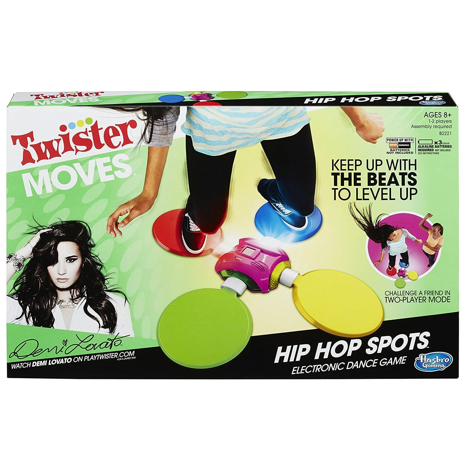 Twister Moves Hip Hop Spots Game 10.89 W/free shipping $10.25
