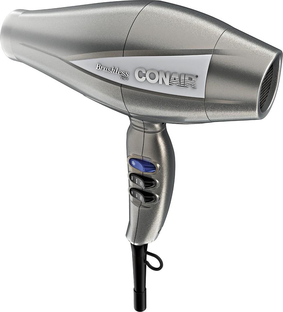 Conair - Infiniti Pro 3Q Brushless Motor Hair Dryer - Silver $49.99
