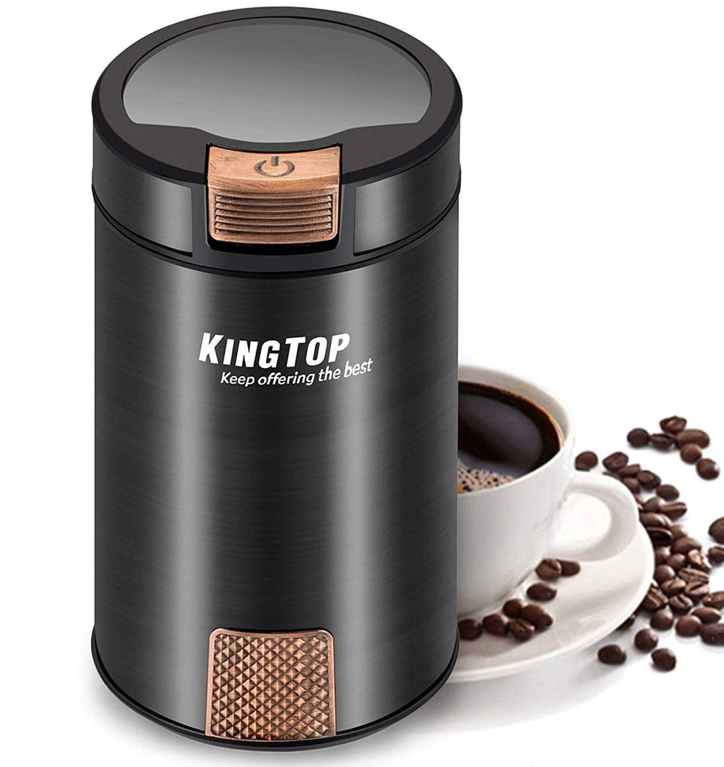 200W KINGTOP Fresh Electric Coffee Bean Grinder at $19.80 AC+Free Shipping