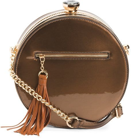 Round Crossbody Bag - Crossbody Bags $19.99