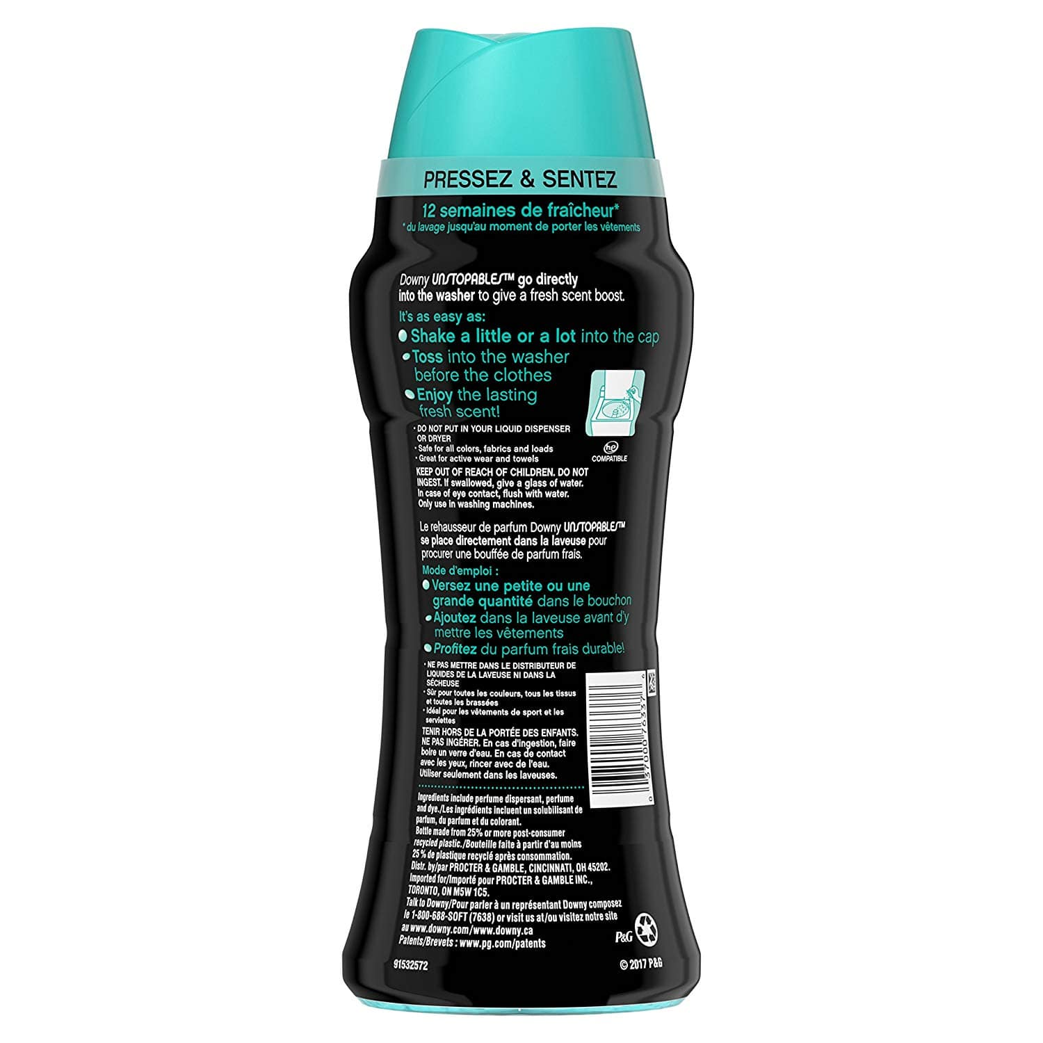 Downy Unstopables In-Wash Scent Booster Beads, Fresh, 14.8 Ounce @ Amazon $6.37