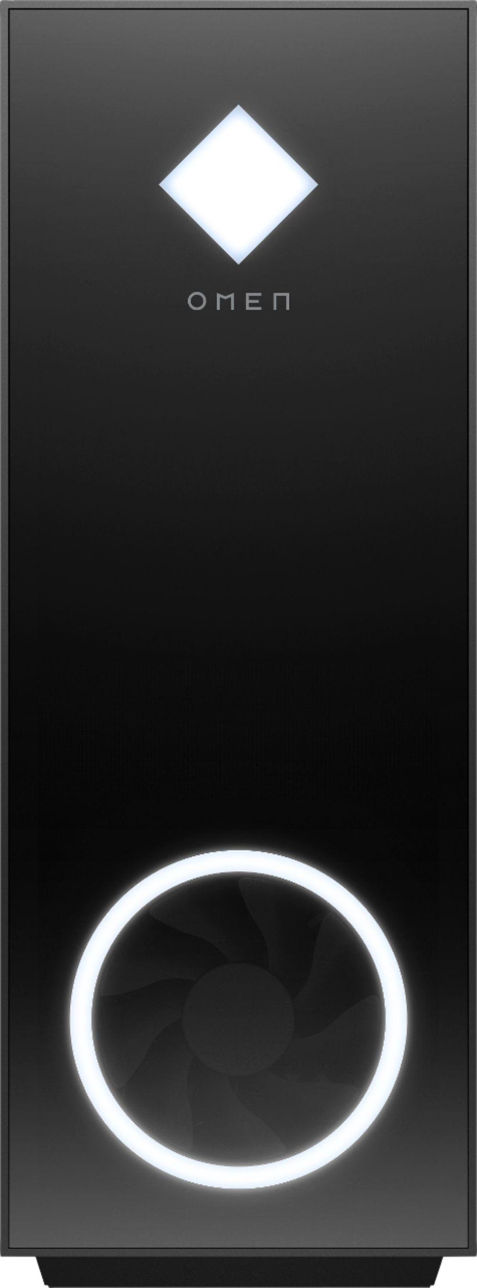 HP OMEN - Gaming Desktop - AMD Ryzen 5 5600G - 16GB Memory - NVIDIA GeForce RTX 3060 - 1TB SSD - Jet Black $1299.99