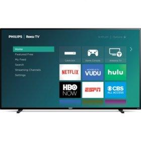 "Philips 65"" Class Roku Smart 4k UHD LED HDTV w/ HDR - 65PFL4864/F7 $330 YMMV $329.31"