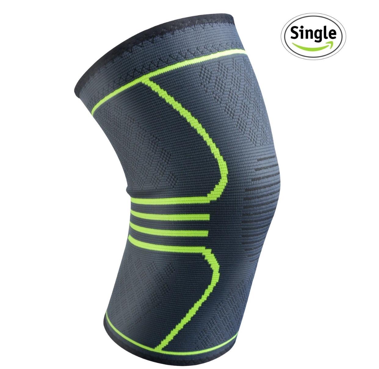 Relax Artist Compression Knee Brace Sleeve (Medium) $5.09 AC @ Amazon