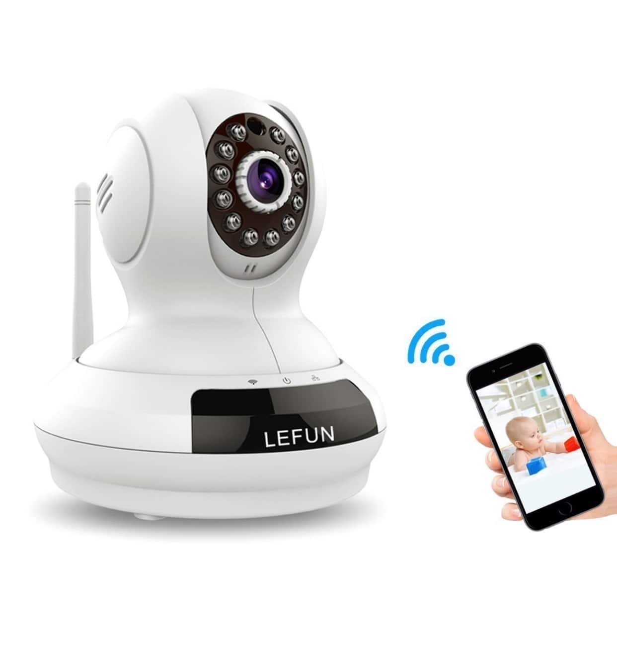720p Home Security Camera Wireless IP Camera (White) $32.99 FS AC @Amazon