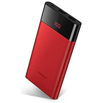 10000mAh Ultra Slim Portable Power Bank with LED Display $14.15 AC @Amazon