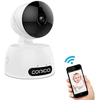 1080P Wireless IP Camera w Pan&Tilt Motion Night Vision Baby Security Monitor $40 AC @Amazon FS w Prime $40.19