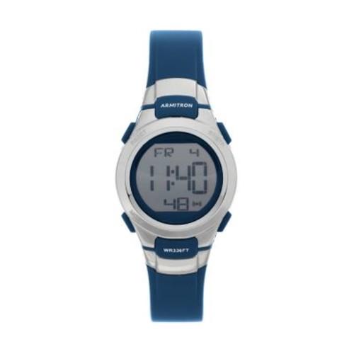 Armitron Sport Women's 45/7012NVSV Digital Watch with Matte Navy Strap $18.74