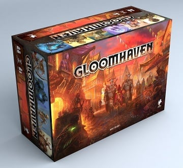 Gloomhaven in stock $125 or $113 ding and dent. Stickers also available $8