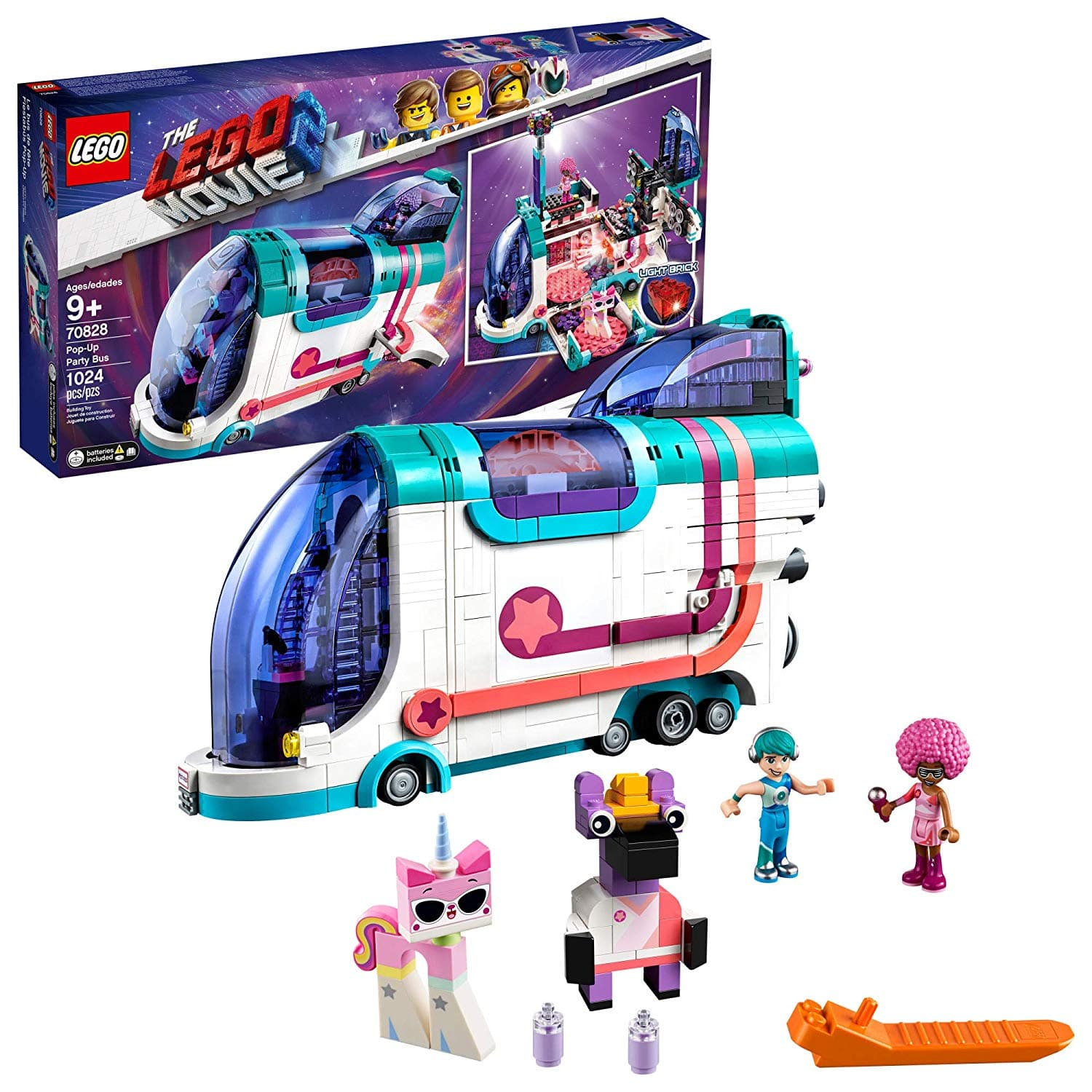 LEGO Movie Pop-Up Party Bus 70828 $34.99