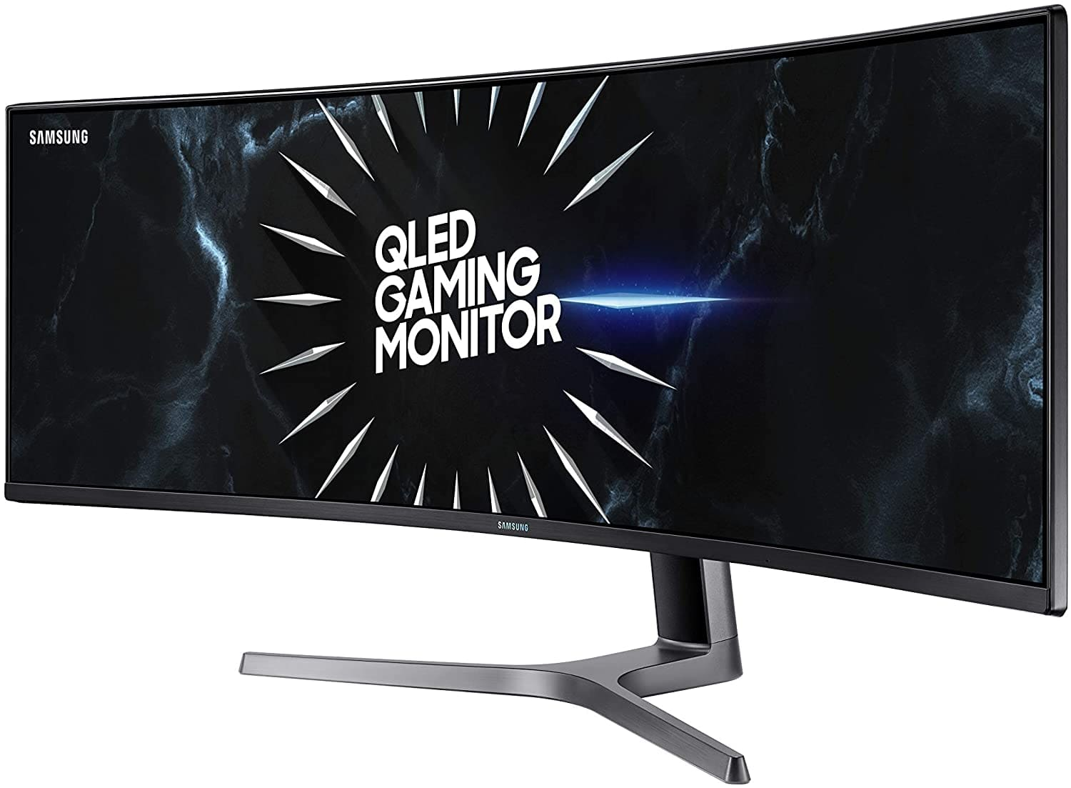 Samsung LC49RG90SSNXZA-RB 49'' Double QHD CRG9 Series Curved Gaming Monitor Refurbished $969.99
