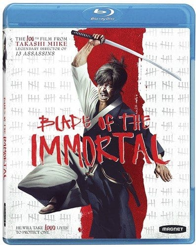 Blade of the Immortal Blu-Ray, not the special SteelBook version, $12.96 + tax for most, free ship if you have Prime