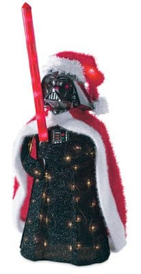 Darth Vader 3D Tinsel Lawn Decoration - $25 with free Prime Shipping