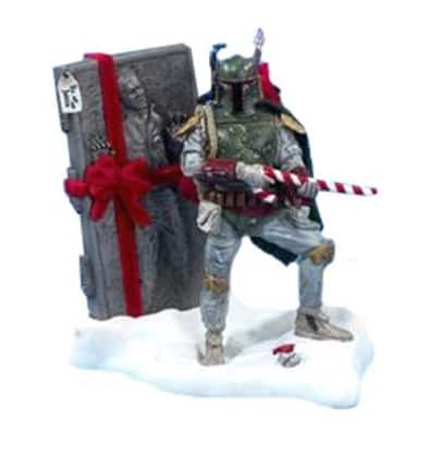 $ Star Wars Boba Fett Tablepiece Christmas Décor $14.25 - free shipping with Amazon Prime