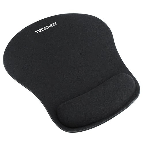 Ergonomic Gaming Office Mouse Pad Mat Mousepad with Rest Wrist Support - Non-slip Rubber Base - Special-Textured Surface $5.99