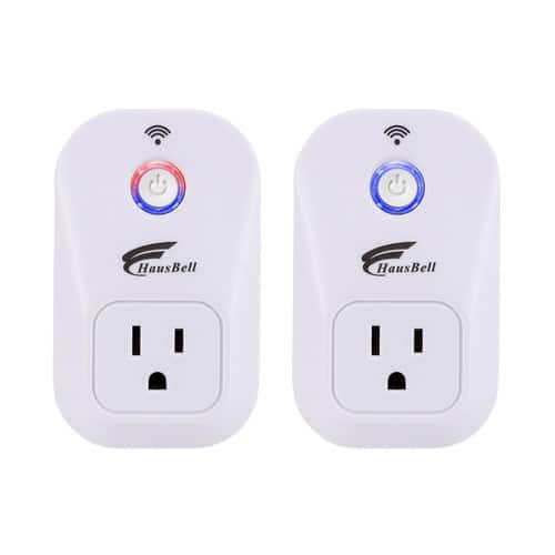 Smart Plug, 2 packs  Wi-Fi Plug with Countdown Function, Control your Devices $25.89 FS @AC