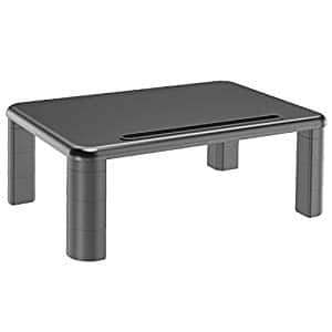 Monitor Stand Riser with Adjustable Height and Storage Organizer $13.99