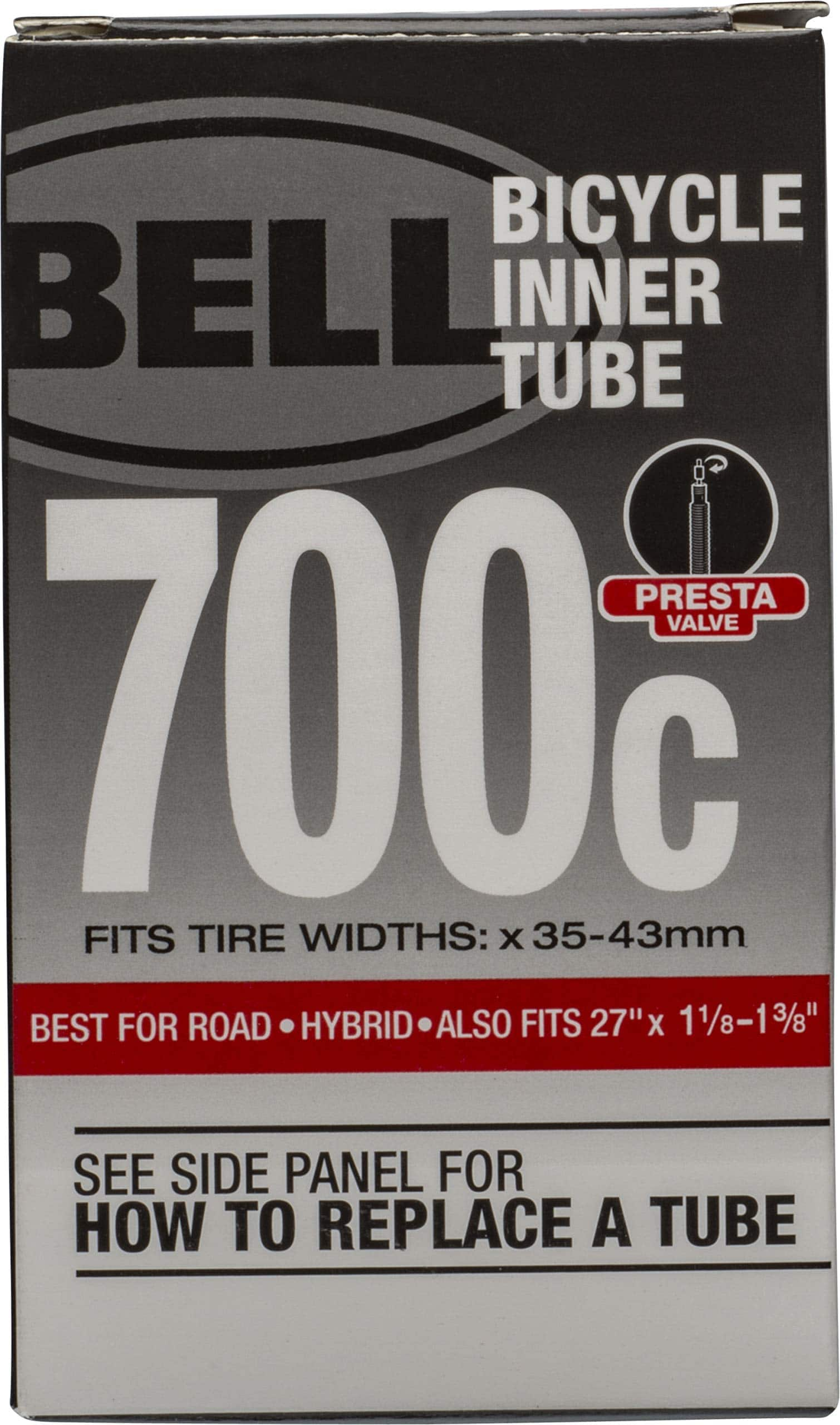 Bell Bike Tube 700 x 35-43c 40mm Presta @ Amazon $1.96