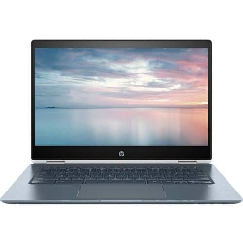 "Open Box- Excellent Certified: HP - 2-in-1 14"" Touch-Screen Chromebook x360 - Intel Core i3 - 8GB Memory - 64GB eMMC Flash Memory - White $338.99"