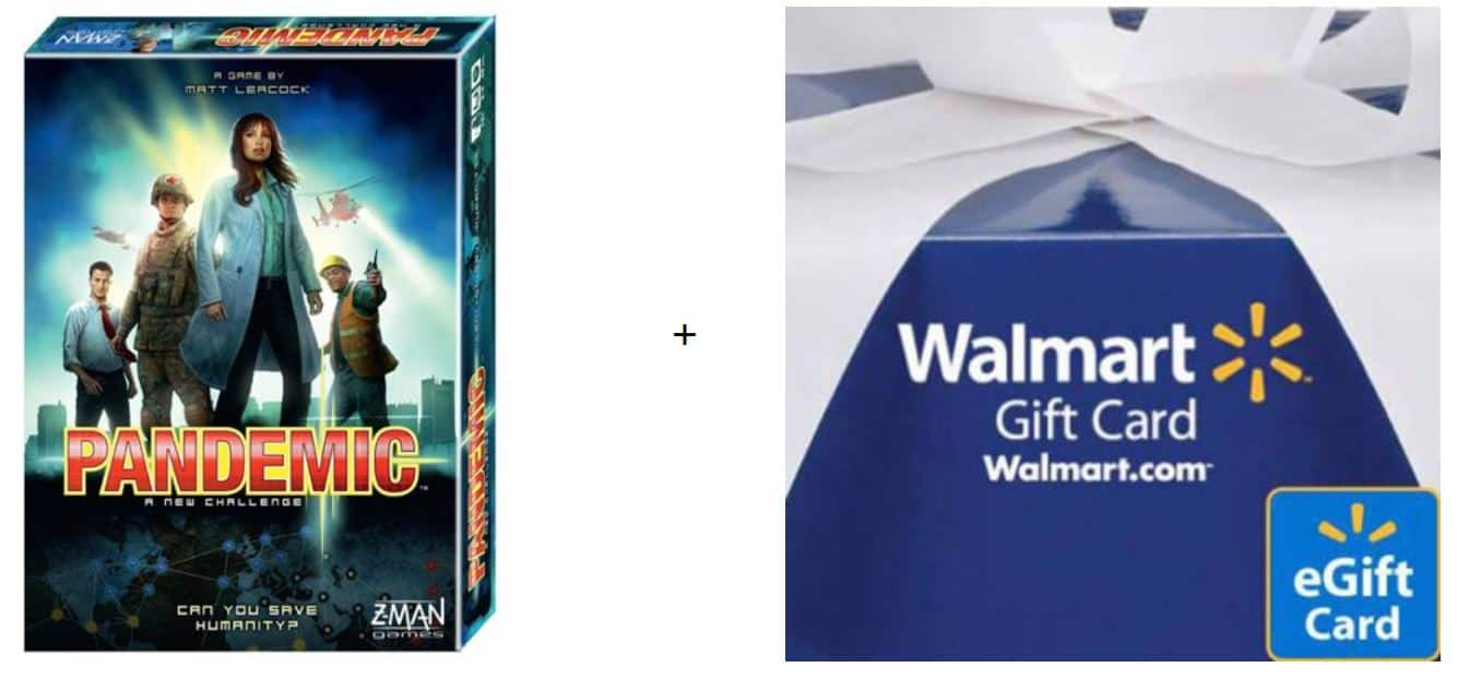 Pandemic Board Game + $10 Walmart Gift Card