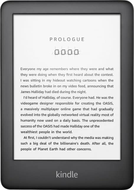 "All-New Kindle - 6"" - 4GB - Black - Best Buy - $59.99"
