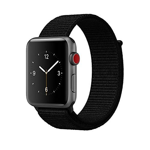 amBand 38mm/42mm Apple Watch Nylon Loop Sport Band - $5.99 (Amazon)