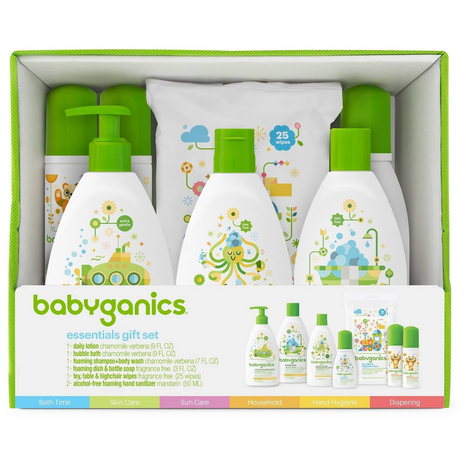 Babyganics Baby-Safe World Essentials Kit $17.99