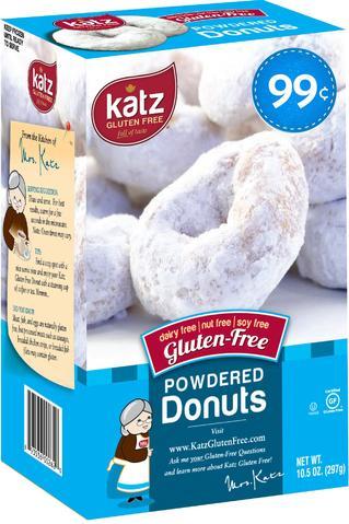 Katz gluten-free, allergy safe donuts $.99