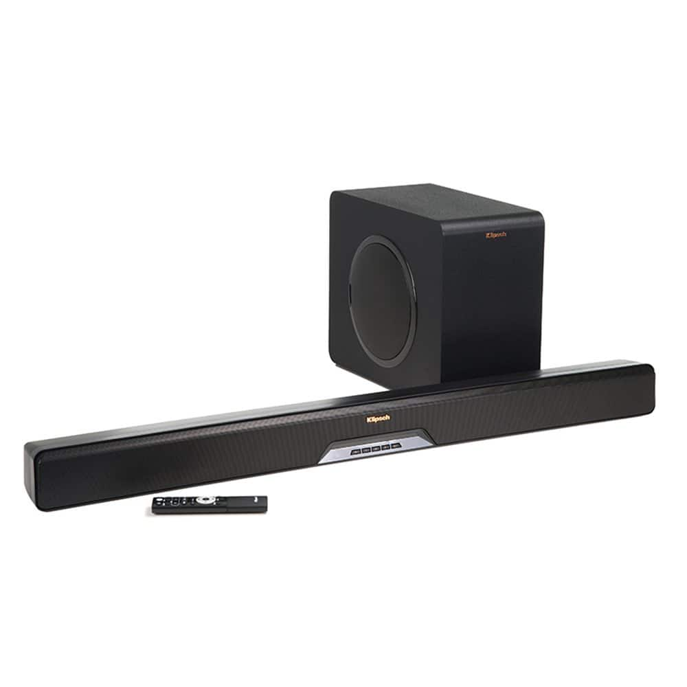 Klipsch Reference RSB-11 Sound Bar with Wireless Subwoofer $240 at Amazon