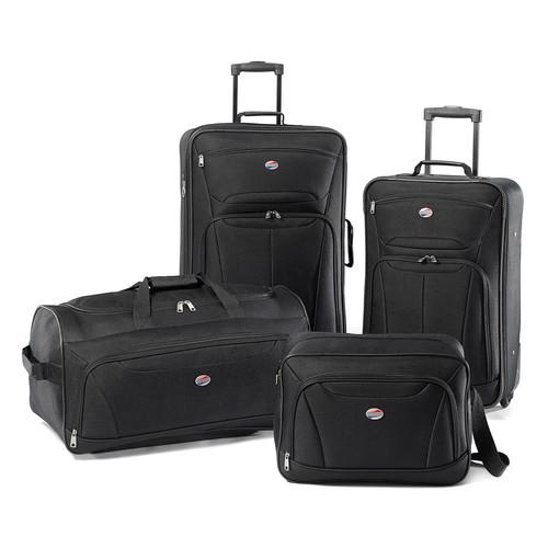 American Tourister Luggage Fieldbrook II 4 Piece Set [Black] $50.99