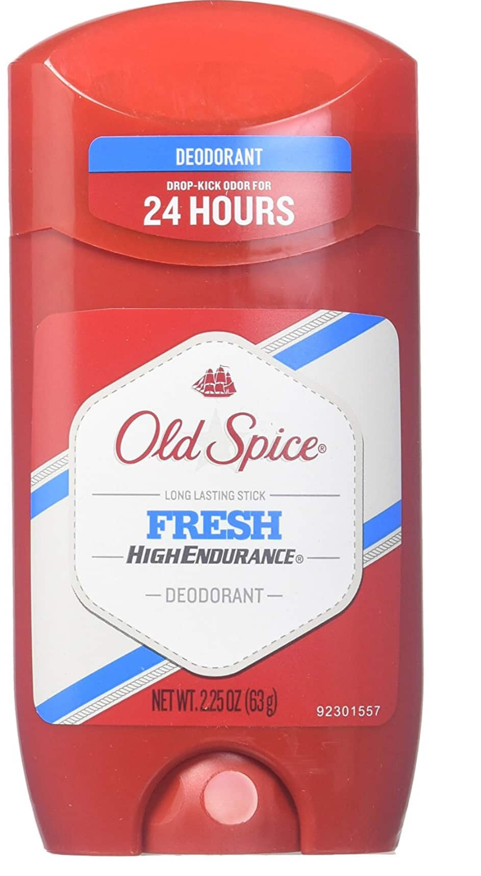 Old Spice High Endurance Deodorant Long Lasting Stick Fresh 2.25 oz (Pack of 12) for $21.46 at Amazon