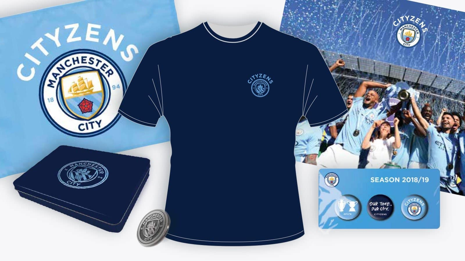 Manchester City FC CITYZENS GIFT PACK for £20/$26?