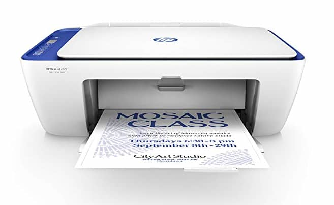 HP DeskJet 2622 for $19 w/ HP instant free ink for life