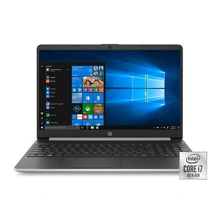 "HP 15.6"" Full HD Laptop, Intel Core i7-1065G7 Processor, 8GB Memory, 256GB SSD, 2 Year Warranty Care Pack with Accidental Damage Protection, Windows 10 Hom $599"