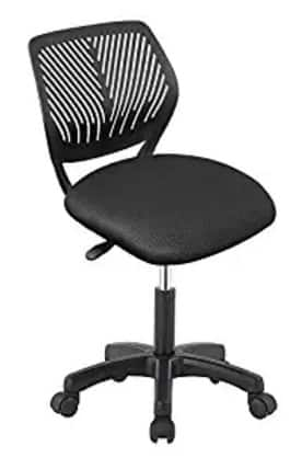 Desk Chair, Study Chair Low Back Swivel Office Home School $15.5 + FS