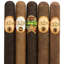 Holt's  Oliva 5-Cigar Sampler for 9.95 ships free ....also can add 4 pack Nub sampler for additional 12.00