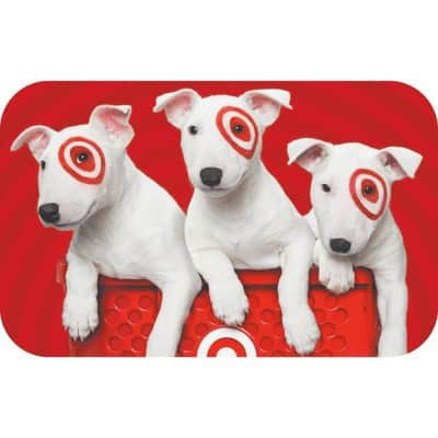 $5 Target GiftCard with $50 specialty gift card purchase (expires 8/7/2021 at 11:59pm PT)