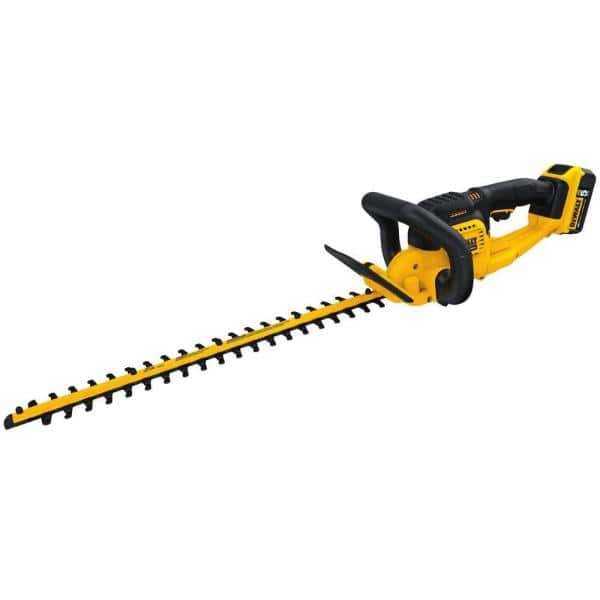 20-Volt MAX Lithium-Ion Cordless 22 in. Hedge Trimmer w/ (1) 5.0Ah Battery and Charger $179