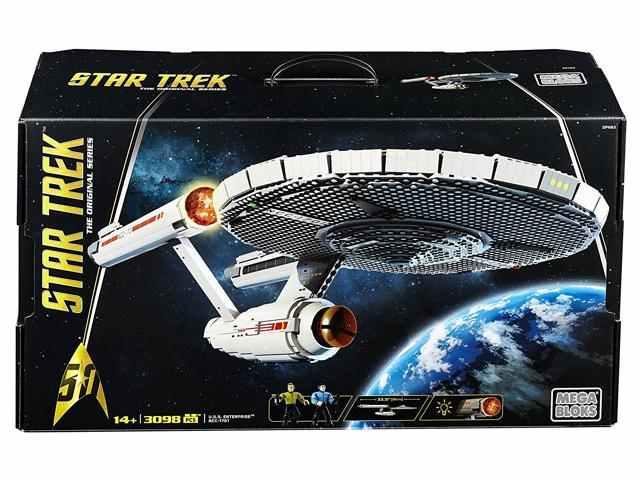 Mega Bloks Star Trek U.S.S. Enterprise NCC-1701 Collector Construction Set $74.99+ free shipping@newegg