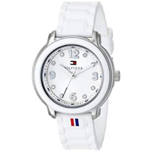 Tommy Hilfiger Women's 1781418 Crystal-Accented Stainless Steel Watch $49