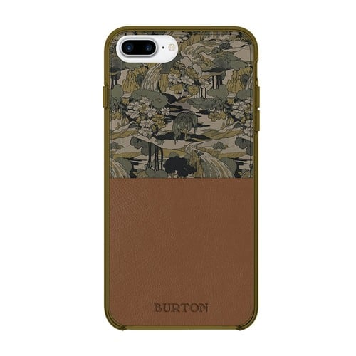 Burton Cell Phone Case for iPhone 7 Plus/6 Plus/ 6s Plus - Pacifist Camo Fir / Brown Leather [Pacifist Camo Fir / Brown Leather] $4.79