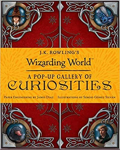 J.K. Rowling's Wizarding World: A Pop-up Gallery of Curiosities Hardcover @ Amazon $5.6