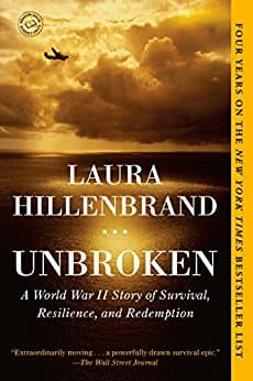 Kindle ebook deals- $1.99-$ 4.99 includes titles such as Unbroken and A Dog's Purpose