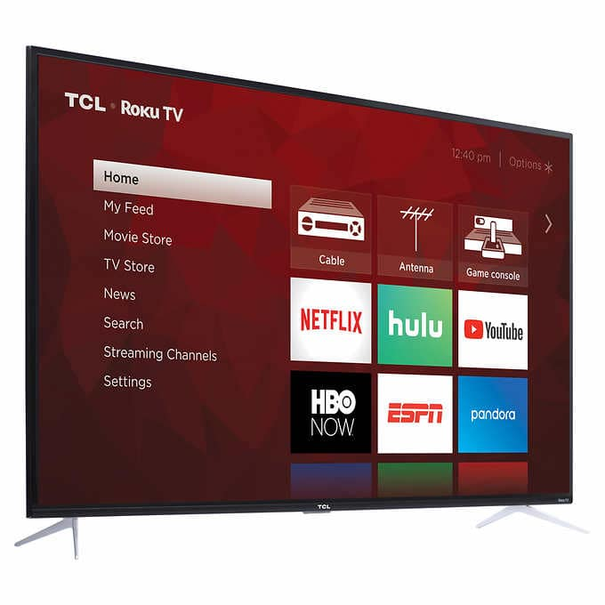 "SOLD OUT [COSTCO ONLY] TCL 75"" Class (74.5"" Diag.) 4K UHD LED LCD TV $699.97"