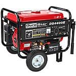 DuroStar 4400 Watt Quiet Portable Electric Start RV Gas Power Generator DS4400E - $299.99 , free shipping (YMMV $279.99 after $20 off coupon code)