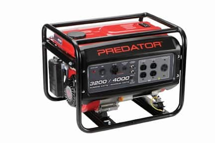 Harbor Freight - 4000 Peak/3200 Running Watts, 6.5 HP (212cc) Gas Generator - $278.99 after coupon. In-store pickup
