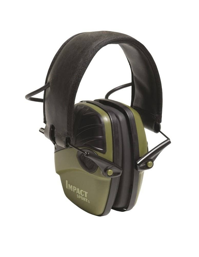 Jet.com:  Howard Leight Impact Sport Sound Amplification Electronic Earmuff, Green. as low as $33.70 shipped after new customer coupon code and using debit card.