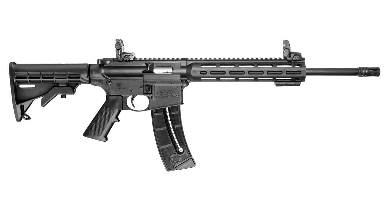 GUNS: Sportsman Outdoor Superstore - Smith & Wesson M&P15-22 Sport 22LR Semi-Auto Rimfire Rifle 10208 Black- $349.88. Free shipping