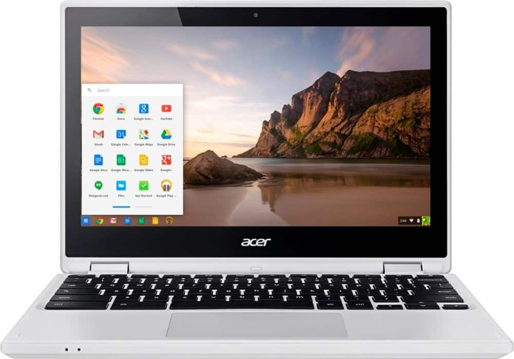 "Bestbuy.com - Acer - R 11 2-in-1 11.6"" Touch-Screen Chromebook - Intel Celeron - 4GB Memory - 32GB eMMC Flash Memory - White . $219.99. F/S or in-store pickup where available."